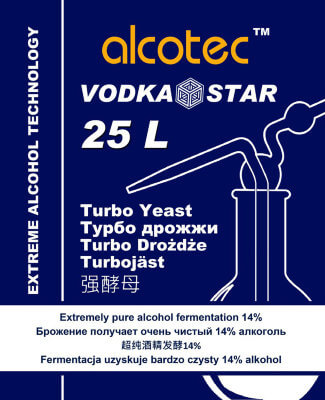 Дрожжи Alcotec Vodka Star 25л